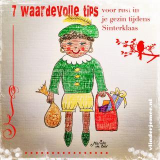 Waardevolle tips voor je gezin tijdens Sinterklaas, rust in huis, rust in je kind