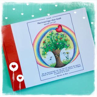 herinneringsdoeboek, herinneren, boek, kinderboek, dolboek, rouwverwerking kind, rouw en verlies, kindertherapie, gezinstherapie, verdriet verwerken, rouwverwerking, enschede, hengelo, oldenzaal, twente