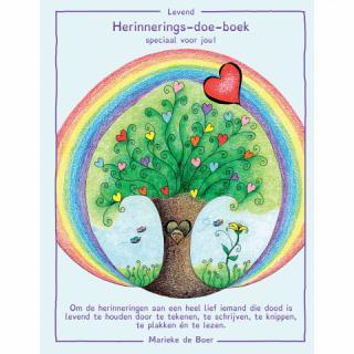 Herinnerings-doe-boek Marieke de Boer rouwverwerking kinderen
