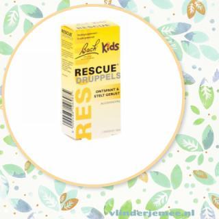 Rescue druppels voor kids, vlinder je mee, rust, beter slapen