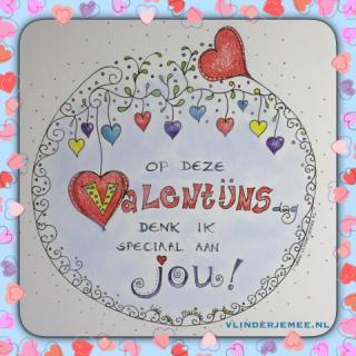 Valentijnsdag bij Vlinder je mee
